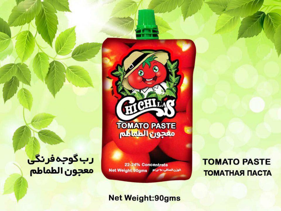 رب گوجه فرنگی پاکتی ارگانیک