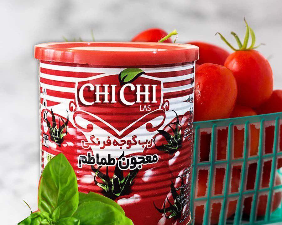 رب گوجه فرنگی قوطی صادراتی