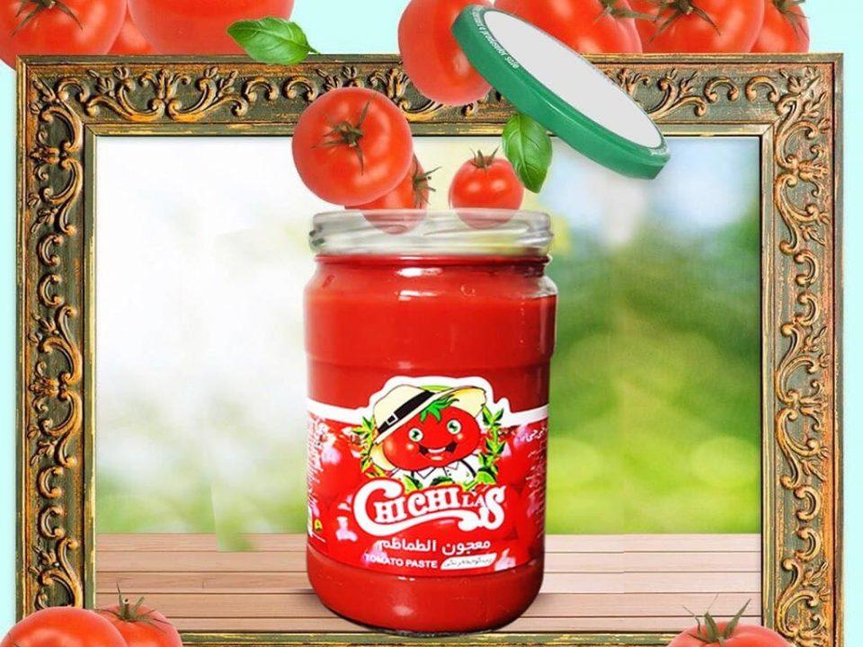 رب گوجه فرنگی شیشه ای صادراتی