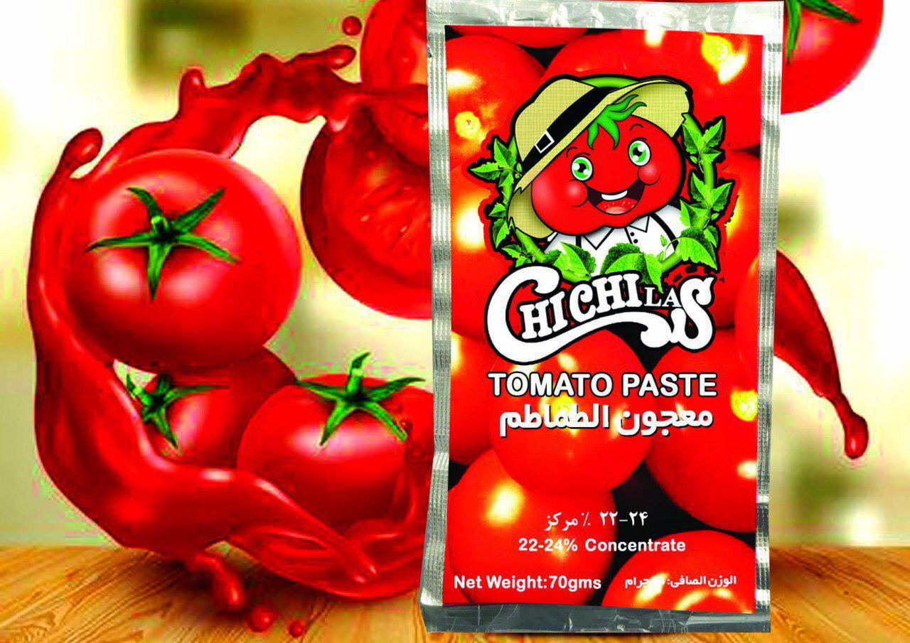 تولید کننده رب گوجه فرنگی ساشه