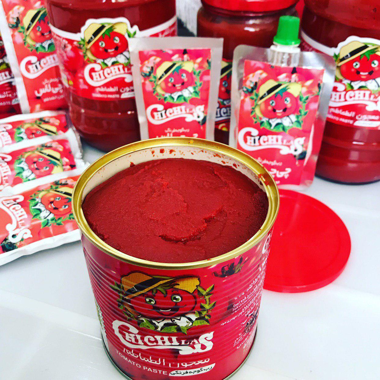 رب گوجه فرنگی قوطی ارگانیک