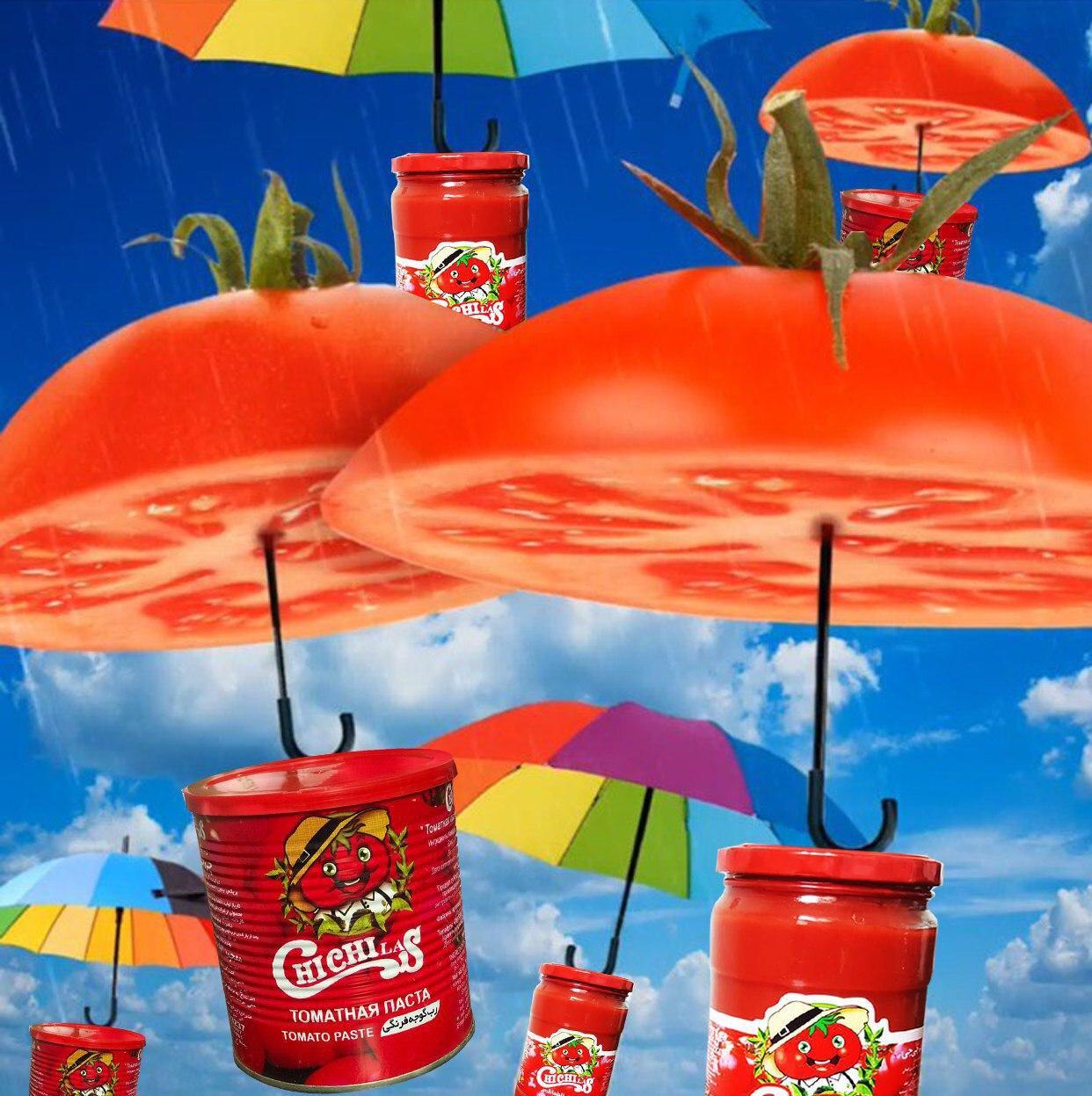 تولید رب گوجه فرنگی چی چی لاس