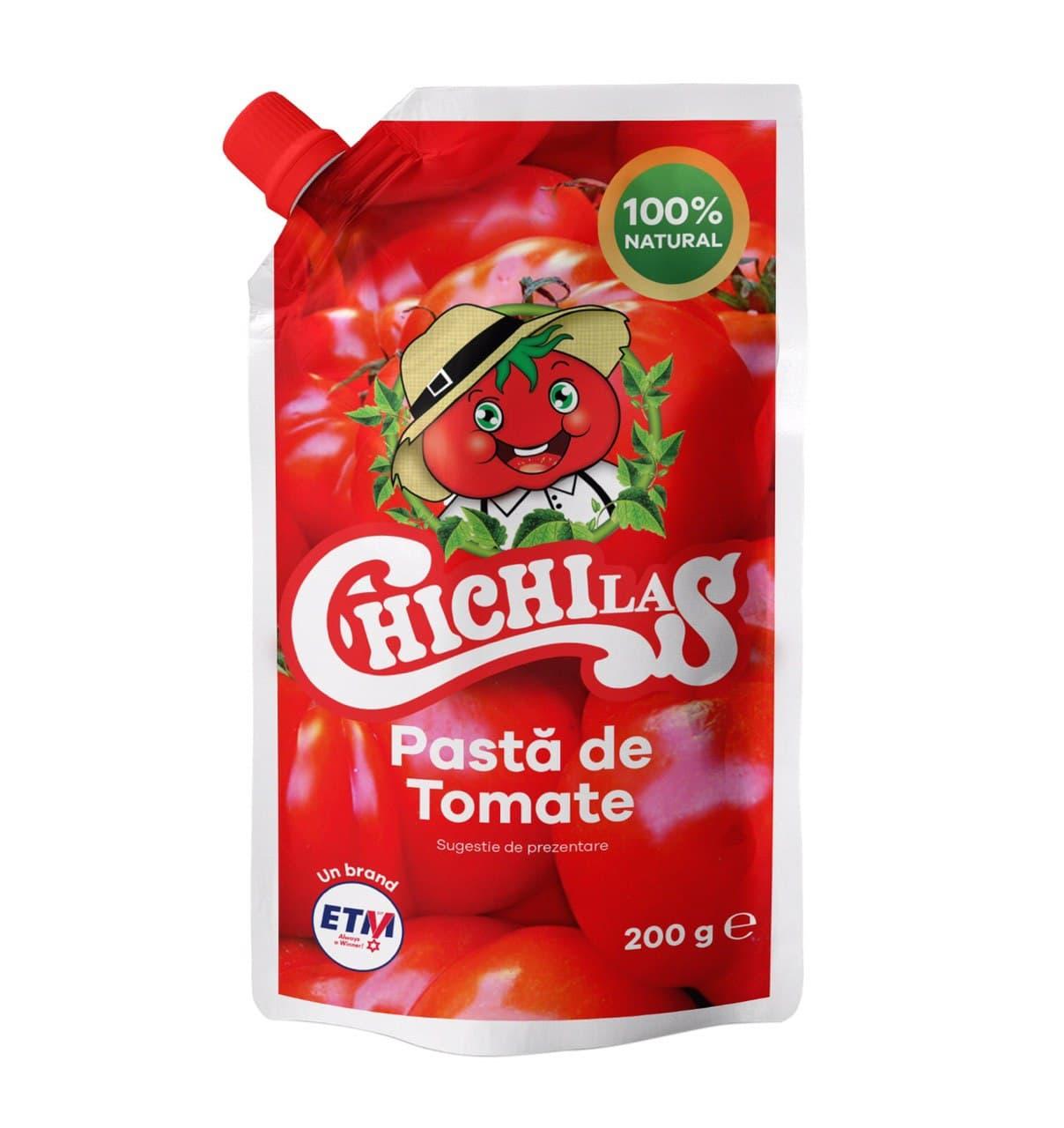 تولید و فروش رب گوجه فرنگی پاکتی